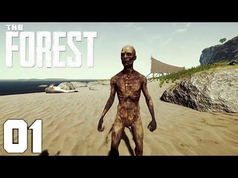 The Forest German Online #01 Drei Idioten machen Urlaub