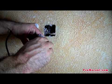 Empotrar cable de antena part2