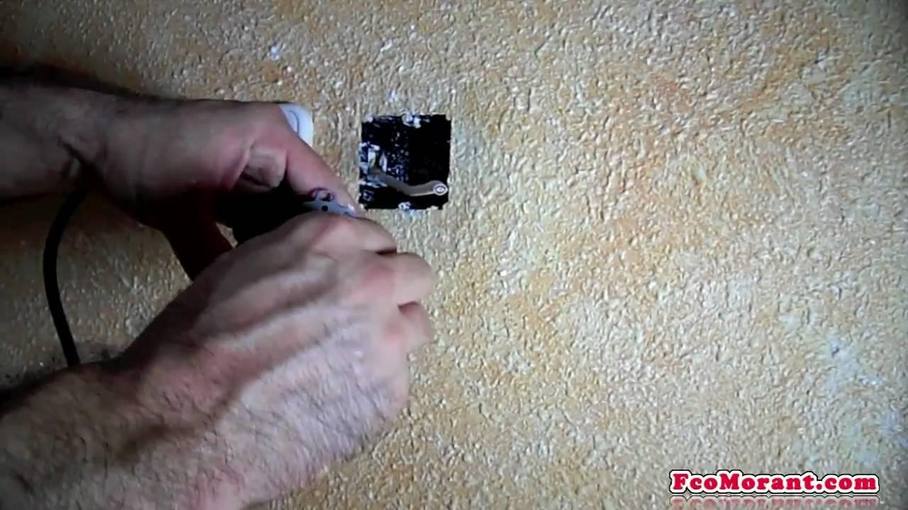 Empotrar cable de antena part2 youtube - Cable de antena ...