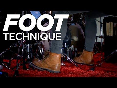 Foot Technique   Fast Single Pedal   Kick Drum Lesson
