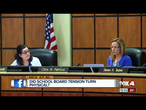 School board member says fellow member intentionally bumped into her