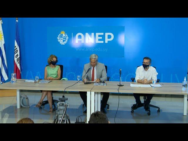 ANEP presentó el Plan de Inicio de Cursos para el 2021