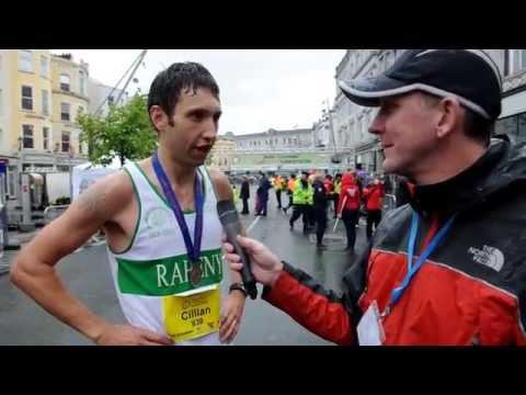 Irish Examiner Cork City Marathon 2015 - Interview - Winner: Cillian O'Leary