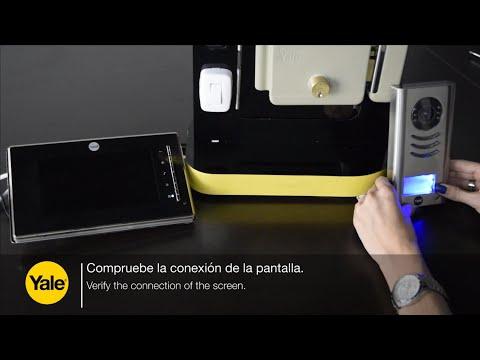 Video portero Yale - conexión con cerradura Electromecánica