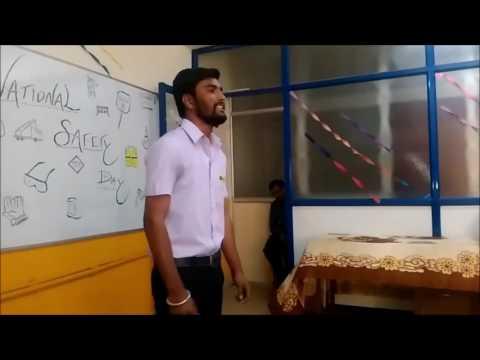 Afaaq Karaoke - National Safety Day (Mifse Hubli)