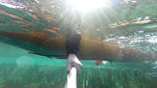 Весенний сплав в паводок на байдарке по р. Шунгут через Голубое озеро(, 2016-04-07T00:11:55.000Z)
