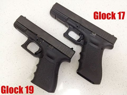 Glock 17 vs Glock 19 !! Quien ganará ?! 🤔 - YouTube