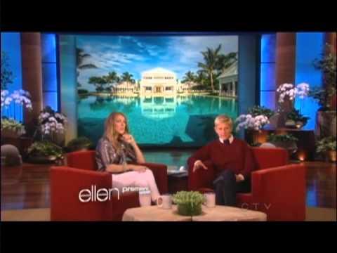 Céline Dion @Ellen Degeneres
