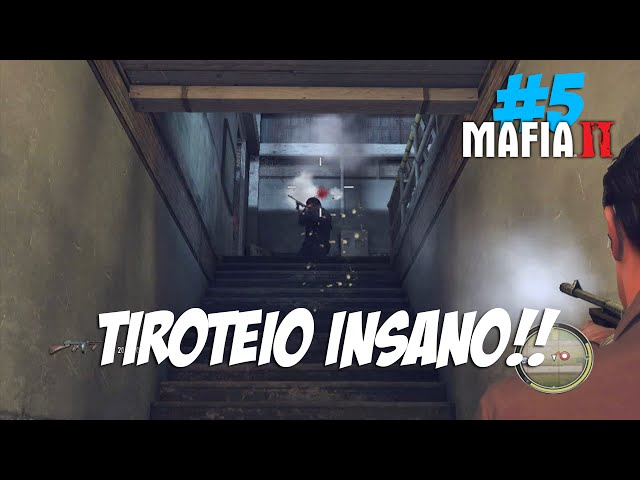 Mafia 2 #5 - Tiroteio Insano #60fps PT-BR
