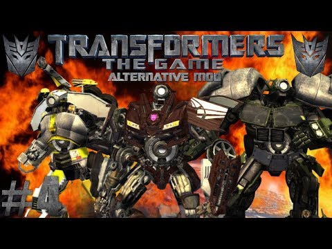 EPIC DRONE ACTION | Transformers: The Game Alternative Mod #4