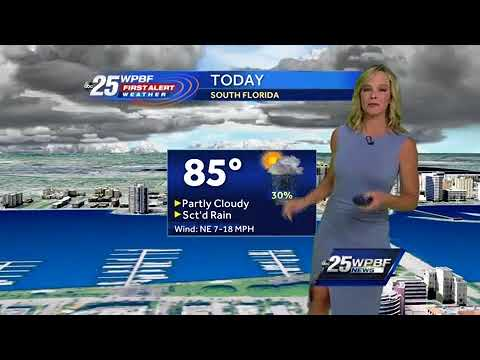Sandra Shaw's Video Forecast