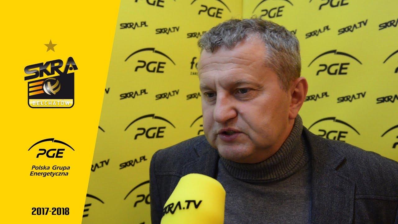Prezes Konrad Piechocki o zespole PGE Skry