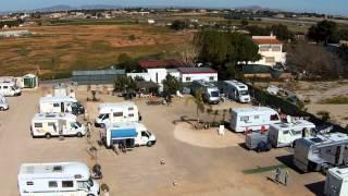 "Wohnmobil-Stellplatz ""Area Autocaravanas Cartagena"" Spanien"