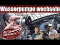 Wasserpumpe wechseln |  erneuern tauschen BMW 6 Zylinder | Auto Tutorial