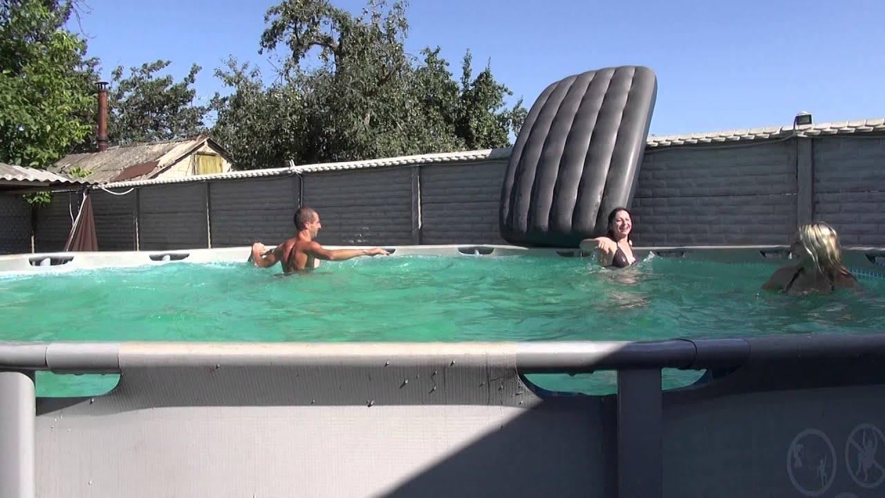 Бассейн с течением своими руками фото 937