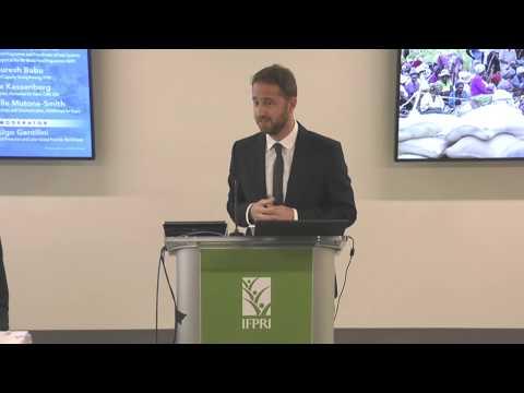 "World Food Programme Report Launch: ""World Food Assistance 2017""  - Ugo Gentilini"