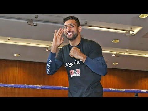 Amir Khan v Phil Lo Greco | Full Stream | PUBLIC WORKOUT