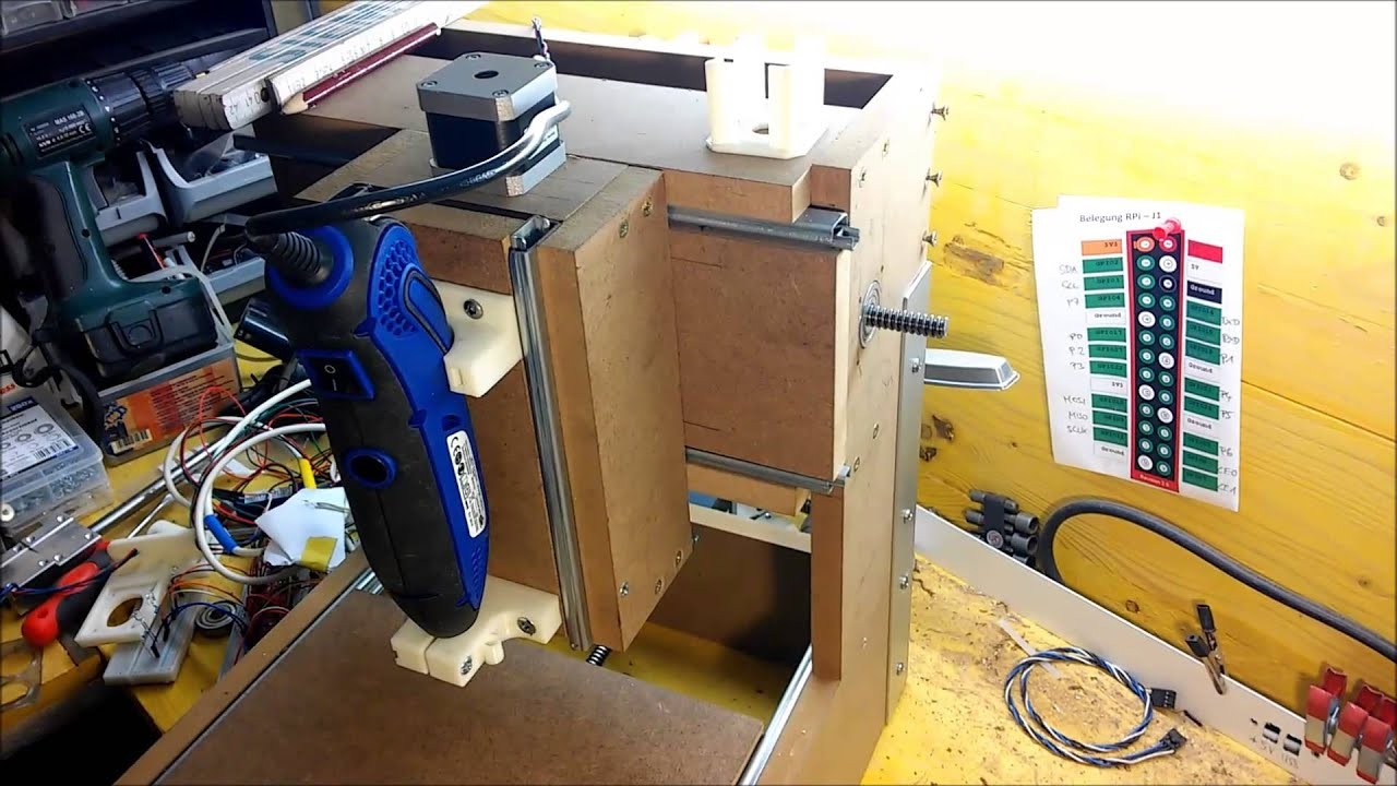pcb cnc fr se selber bauen arduino nema17 a4988 5 teil youtube. Black Bedroom Furniture Sets. Home Design Ideas