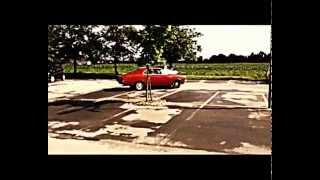 Opel Rekord C Coupe 67 hopping down the road