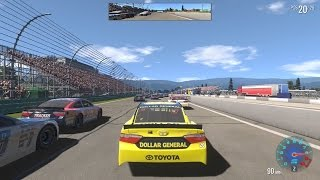 NASCAR Heat Evolution Online Gameplay