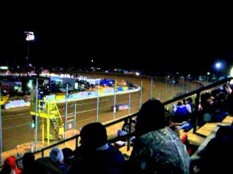 Scott Bloomquist Heat Race Win at East Alabama Motor Speedway