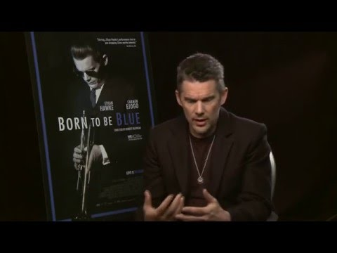 """Ethan Hawke Talks about playing Chet Baker in """"Born to Be Blue"""""""