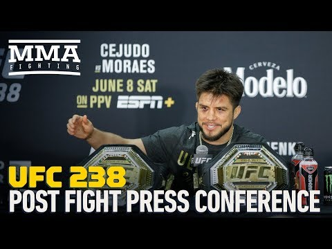 UFC 238 Post-fight Press Conference - MMA Fighting