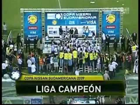 Liga Campeon de la Sudamericana 2009, final narrado Radio la Red.