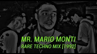 Mr. Mario Monti DJ Techno Mix 1992. XXI Secolo.