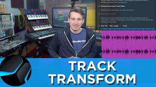 Track Transform in Studio One