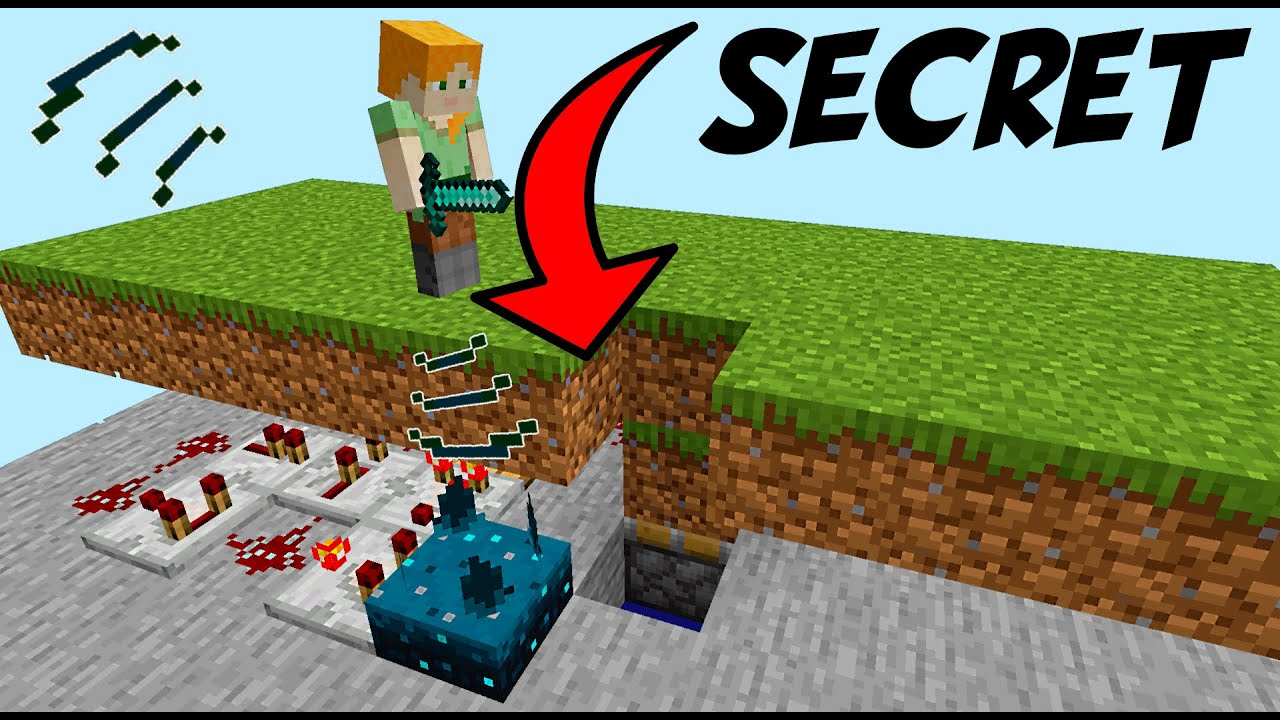 Secret Sculk Door or Trap! [Programable] | 1.17 Minecraft