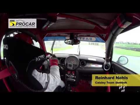 Onboard Reinhard Nehls Überschlag Sachsenring