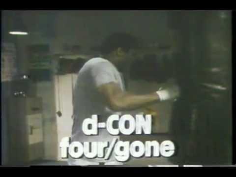 1979 MUHAMMAD ALI - roach commercial ( d-CON spray )