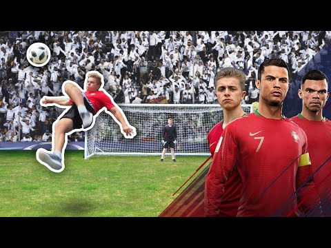 Bale Overhead Kick Challenge | Ronaldo's Road To The World Cup - EP. 5