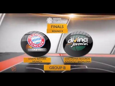 EB ANGT Finals Highlights: U 18 FC Bayern Munich - U18 Divina Seguros Joventut Badalona