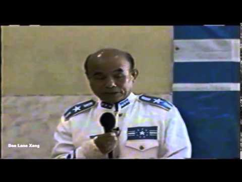 General Kongle's speech about Lao government leaders - Dao Lane Xang - Laos - Lao