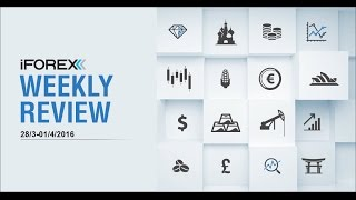 iFOREX Weekly Review 28/3-01/04/2016: EUR, Natural Gas and JPY.