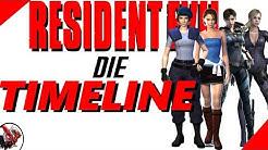 Resident Evil Timeline - Alle Spiele und Filme chronologisch sortiert