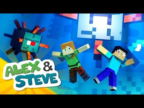 GUARDIAN LIFE | The Minecraft Life of Alex & Steve | Minecraft Animation