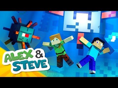 minecraft alex and steve the movie