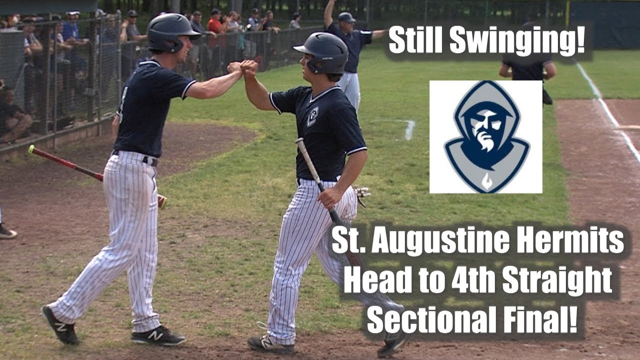 new style d0976 bfe25 St. Augustine 9 Notre Dame 5 - Non-Public A South Baseball Semifinal
