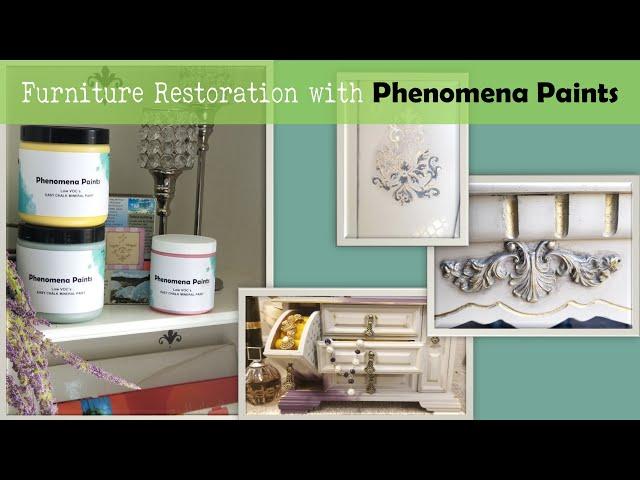 Furniture Paint Color Samples | Paint for Cabinets | Red Paint Color | Phenomena Paints - Episode #2