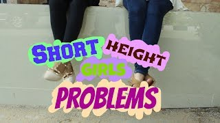 SHORT HEIGHT GIRLS PROBLEMS | YusraSolangi
