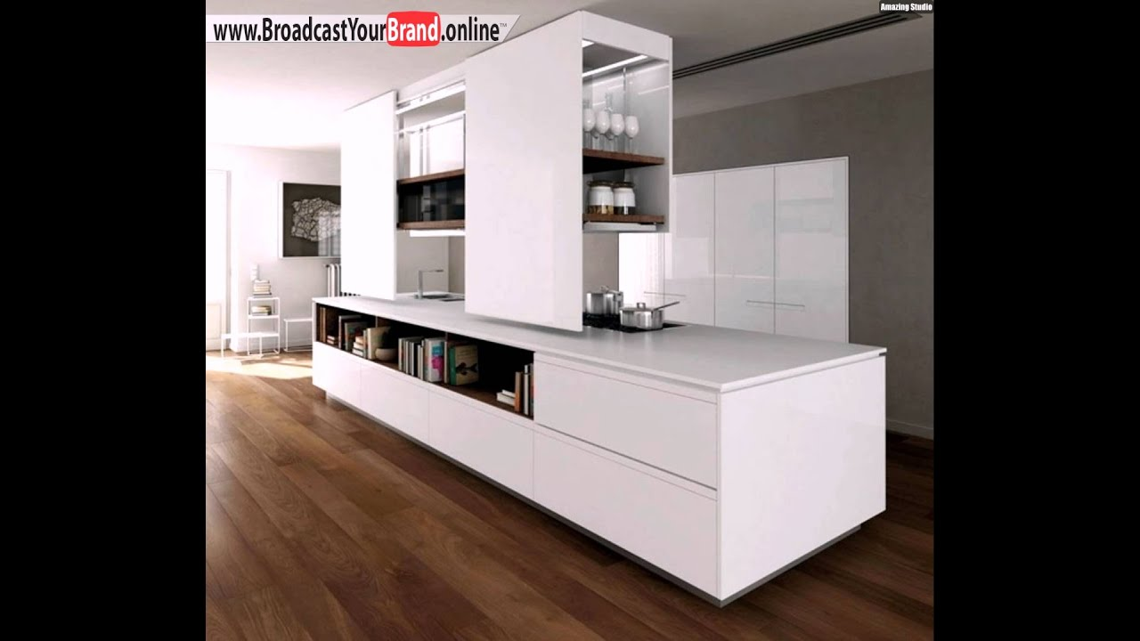 wei lack k che holz prima binova italienische m bel youtube. Black Bedroom Furniture Sets. Home Design Ideas