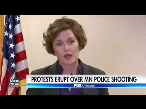 Fox News. Protest erupt over Minneapolis  news conference