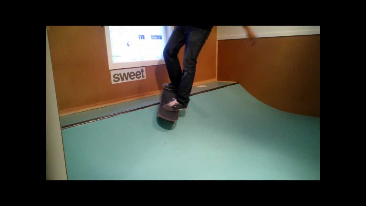 Bedroom micro ramp YouTube – Garage Mini Ramp Plans