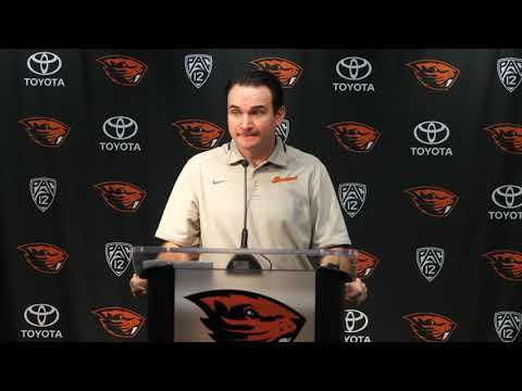 Oregon State Beavers - Beavs vs. UW start time 11/17 1:30 or 2pm. Coach Smith on Stanford!!