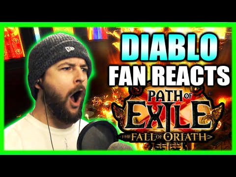 Diablo Fan Reacts! New Path of Exile Updates - Fall of Oriath and Legacy League Gameplay Impressions