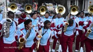 Talladega College Marching Band - Thuggish Ruggish Bone @ 2015 Hermes Parade
