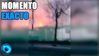 Explosión de Pipa de Gas en Hospital Materno Infantil de Cuajimalpa Momento Exacto en vivo 2015